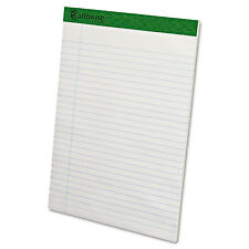 Earthwise by Ampad Recycled Writing Pad 8 1/2 x 11 3/4 White Dozen 20172