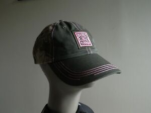 Built Ford Tough Womens Hat Cap Camouflage Camo & Pink embroidery Cotton nice