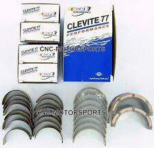 SB Ford 289 302 Clevite 77 Race Rod Main Bearing Combo Set MS590H CB634HN STD