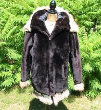 Gorgeous Fur Inuit Alaska Parka Eskimo Coat Jacket Stunning M-L Handmade Vintage