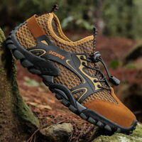 Men's Hiking Shoes Trail Sneakers Wading Mesh Shoes Slip Resistant Big Size 50