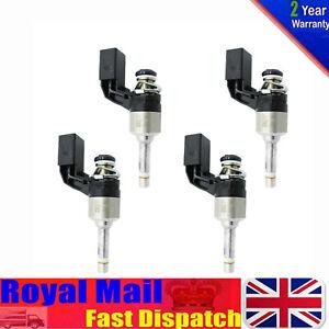 4*Fuel Injector 03C906036F 03C906036M FOR VW Volkswagen Golf Tiguan Touran Jetta