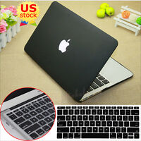 "2in1 Black Matte Cut-out Hard Case Cover Skin For Retina Pro 13""  Air 11/13""inch"