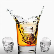 New listing Funny Skull Shape Silicone Ice Tray Mold Muffin Cake Chocolate Baking Mould Hv