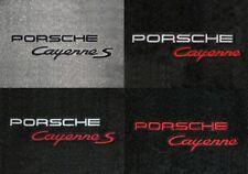 Porsche Vehicles 2pc Ultimats Carpet Front Row Floor Mats - Choose Color & Logo