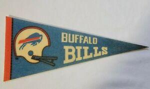 Vintage  NFL  Pennant   Buffalo Bills  Size 9 x 4