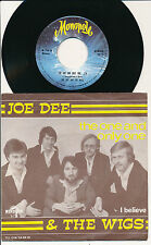 "JOE DEE 45 TOURS 7"" BELGIUM THE ONE AND ONLY ONE"