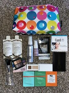 HUGE Make-Up SAMPLE Size LOT Moisturizer COSMETIC Hair CLINIQUE Shadow Origins