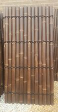 BAMBOO FENCE PANEL 2M x 1M - DOUBLE Lacquered Sydney NSW