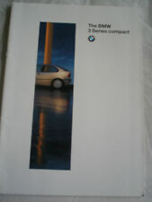 BMW 3 Series Compact brochure 1994 ed 2 Irish market English text
