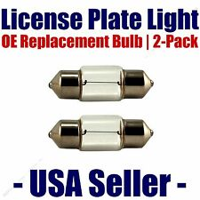 License Plate Bulb 2pk OE Replacement Fits - Listed Saab Vehicles - 6418
