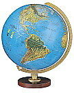 Replogle Globes Livingston Globe 12in Blue Illume Collectible Figurines