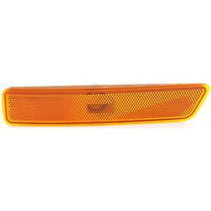 Side Marker For 2002-2010 Mercury Mountaineer Front Left Amber With Bulb
