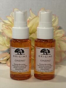 Origins GinZing Energy Boosting Treatment Mist - Set Of 2 x 30mL / 1 Oz.
