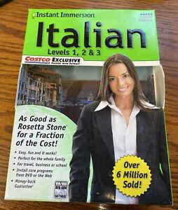Instant Immersion Learn How To Speak Italian Levels 1-3