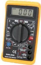 Mercury 600.101   Multímetro Digital Multitester Ac Dc Voltímetro A Prueba De Choques Cuerpo
