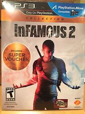 infamous 2 PS3 FREE SHIPPING!