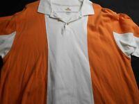 RedHead Bass Pro Shops Orange White Polo Xl Men's Shirt