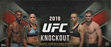 CODY GARBRANDT  2019 UFC KNOCKOUT 6 BOX 1/2 CASE BREAK 48 AUTOS/RELICS