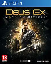 Deus Ex Mankind Divided PS4 Playstation 4 IT IMPORT SQUARE ENIX