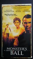 Monster's Ball (2002, used VHS, good condition) Halle Berry