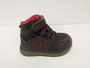 Stride Rite Boys Ankle Boots, Brown, Toddlers 4 Wide