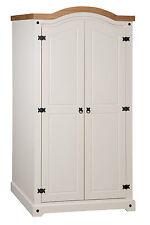 Mercers Furniture® Corona Painted 2 Door Arch Top Wardrobe