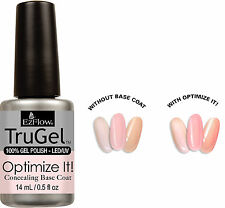 EzFlow TruGel Polish Optimize It! Concealing Base Coat - .5oz - 42595