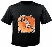 Motiv Fun T-Shirt Joggen Jogger Laufen Sprint Sport Club Hobby Motiv Nr. 6294