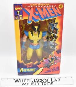 Wolverine Deluxe Edition The Uncanny X-Men W/Box 1993 Toybiz Marvel Comics