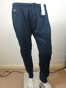 NEW LACOSTE MEN'S BLACK LEGGINGS PERFORMANCE PANTS SWEATPANTS & JOGGERS SIZE XXL