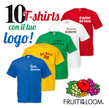 10 magliette con stampa, t-shirts con logo, maglie personalizzate, stampa maglie
