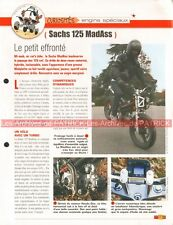SACHS 125 MadAss 2006 Joe Bar Team Fiche Moto #006549