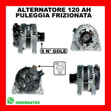 ALTERNATORE 120AH FORD FOCUS C-MAX 1.6 TDCI DA ANNO 2005 KW66 CV90 HHDA HHDB