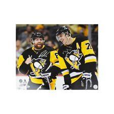 Phil Kessel And Evgeni Malkin Autographed Pittsburgh Penguins 16x20 Photo - BAS