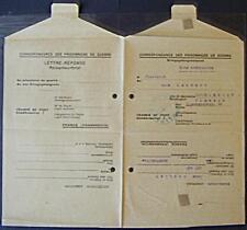 POW Camp 154 Sorgues France 1948 German Prisoner War Kriegsgefangenenpost 69