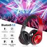 B3 On Ear Kopfhörer Bluetooth Kabellos Stereo Bass Kopfhorer Faltbare DE Neu