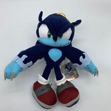 """Sonic the Hedgehog Plush Dark Sonic Soft Toy Doll Stuffed Animal Teddy 12"""" BIG"""
