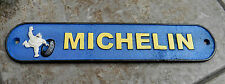 SUPERB HEAVY CAST IRON MICHELIN MAN TYRE ADVERTISING SIGN