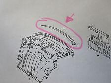 Mercedes-Benz W126 C126 SEC Heckscheibenrahmen Reperaturblech