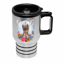 Chinese Crested Stainless Steel 16oz Tumbler