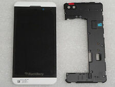 BlackBerry Z10 LCD 4G White Screen & Digitizer+Middle Frame +back housing