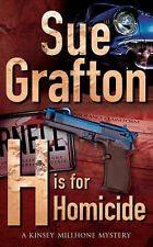 H is for Homicide by Sue Grafton (Paperback, 1992)verde41