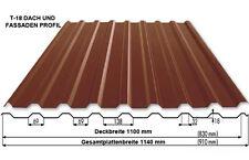 Blechdachziegel, Trapezbleche, Stahlblechplatten, Dachplatten,  0,45 mm