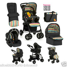 New Hauck Disney Winnie the Pooh TidyTime 3in1 shopper pushchair buggy pram+ set