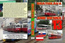 2655. Vienna and Bratislava. Austria and Slovakia. Trams and trolleybuses. Augus