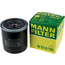 ORIGINALE Mann-Filter Filtro olio W 814/80 OIL FILTER