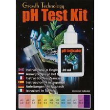 Ph Kit De Prueba Para Hidroponía / Acuarios, hasta 400 pruebas, gama de pH 4 - 11