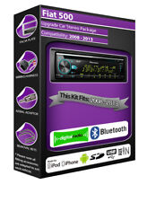 Fiat 500 DAB radio, Pioneer stereo CD USB AUX player, Bluetooth handsfree kit