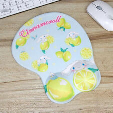Cute 3D Cinnamoroll Lemon Wrist Rest Mat Mice Protect Computer Laptop Mouse Pad